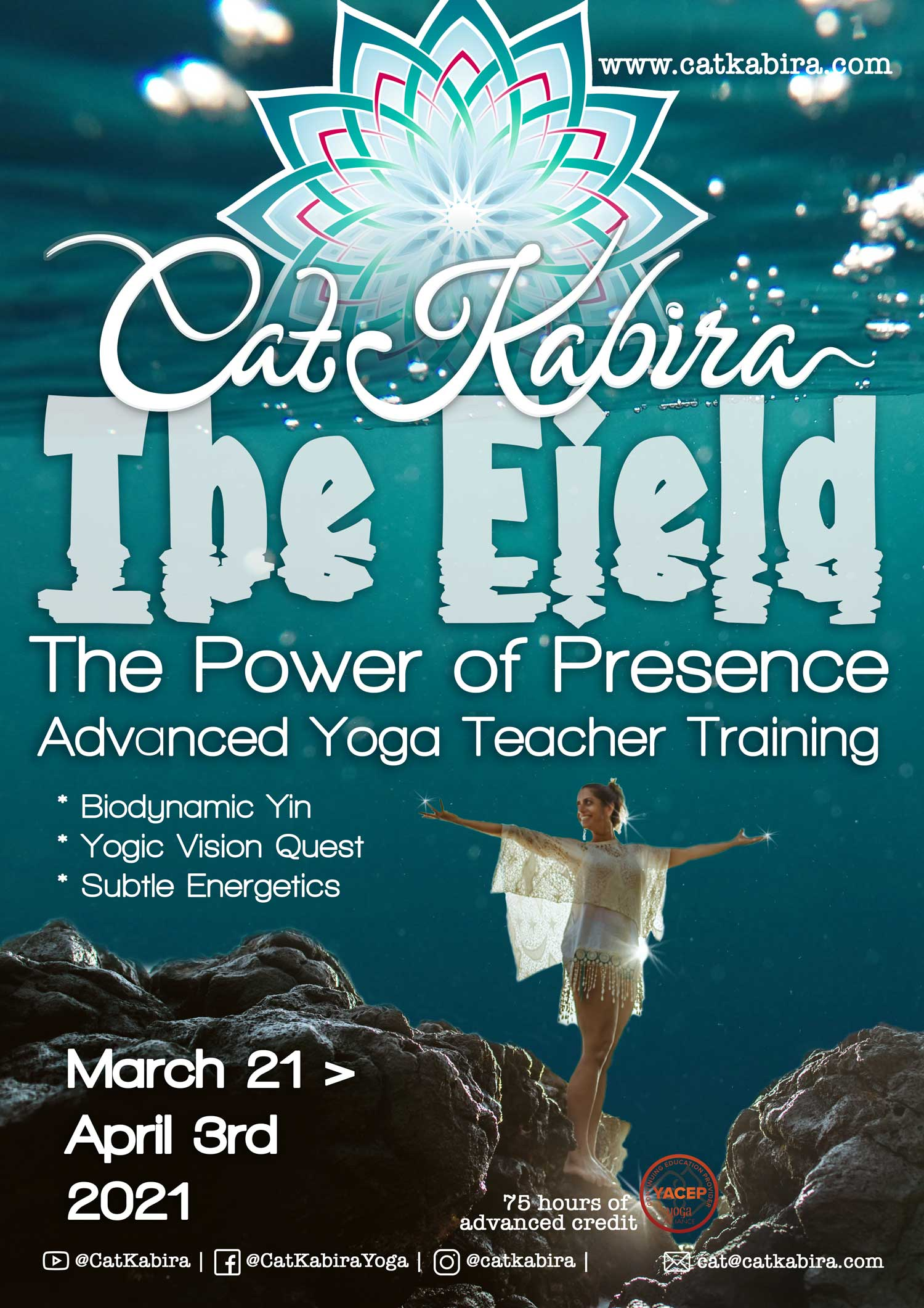 catkabira.com - The Field, the Power of Presence In-Person Advanced Yoga Teacher Training 2021 Bali